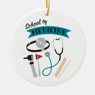 School Of Medicine Christmas Ornament