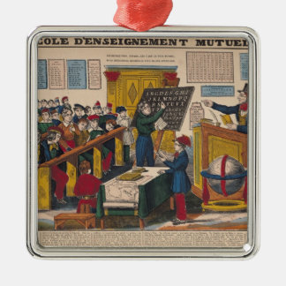 School of Mutual Education Christmas Ornament