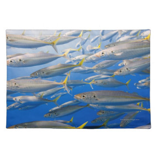 School of Rainbow Runners, Sea of Cortez, Mexico Placemat