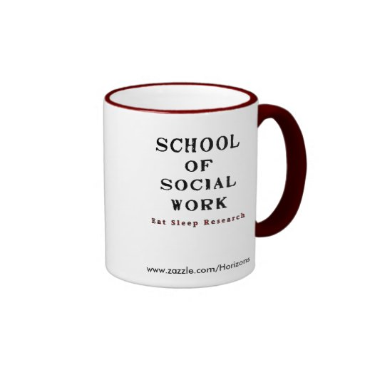 School of Social Work Coffee Mug