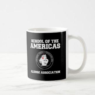 school of the americas2 basic white mug