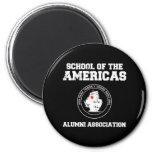 school of the americas2 fridge magnets