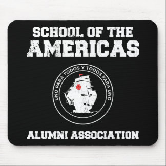 school of the americas2 mouse pad