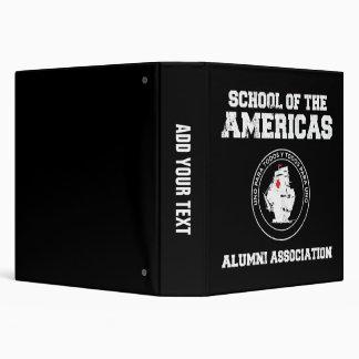 school of the americas alumni binders
