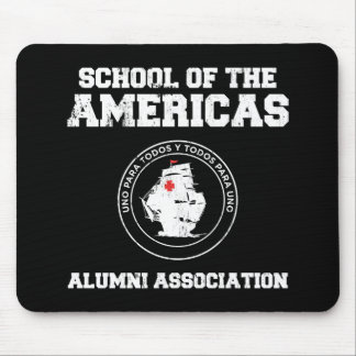 school of the americas alumni mouse mat
