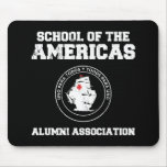school of the americas alumni mouse pad