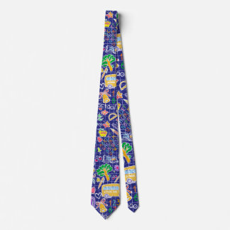 School pattern tie
