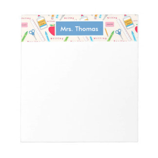 School Personalized Notepad