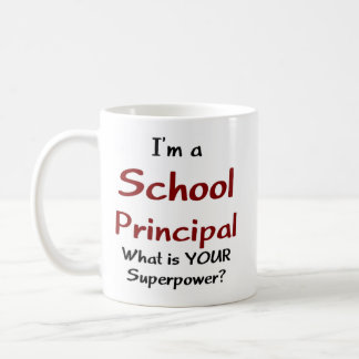 School principal coffee mug