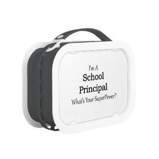 School Principal Lunchboxes