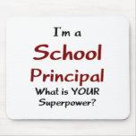 School principal mouse pad
