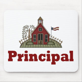 School Principal Mousepad