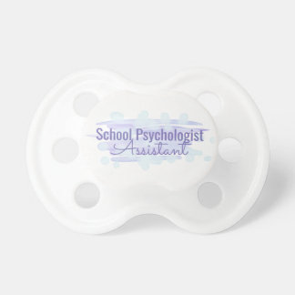 School Psychologist Assistant Pacifier