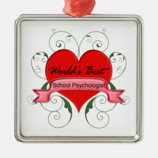 School Psychologist Christmas Ornament