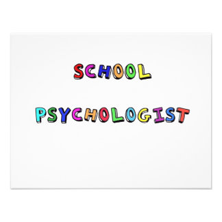 SCHOOL PSYCHOLOGIST CUSTOM INVITES