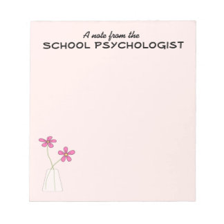 School Psychologist Note Pad (Small)