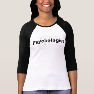 School Psychologist Overlay Tee Shirt