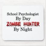 School Psychologist/Zombie Hunter Mousepads