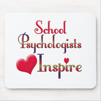 School Psychologists Inspire Mouse Pad