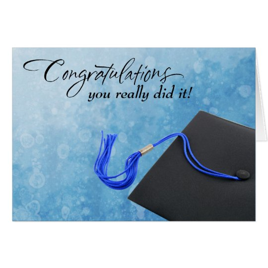 School Psychology Graduation Card