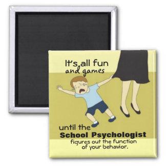 School Psychology Humor (Magnet) Square Magnet