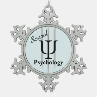 School Psychology Pewter Ornament