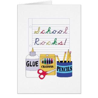 School Rocks! Card