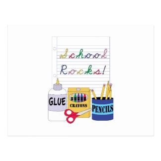 School Rocks! Post Card