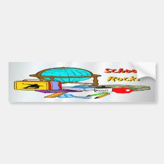 School Rocks - School Supplies Bumper Sticker