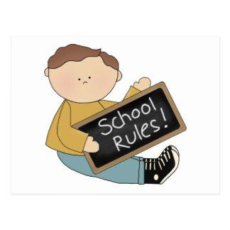School Rules Postcards