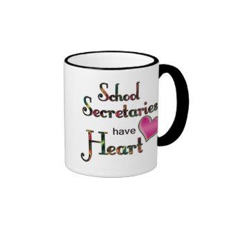 School Secretaries Have Heart Mugs