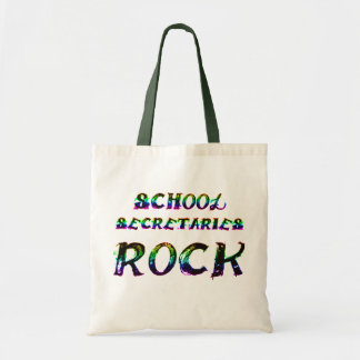 SCHOOL SECRETARIES ROCK TOTE BAG