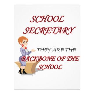 SCHOOL SECRETARY 2 copy 21.5 Cm X 28 Cm Flyer