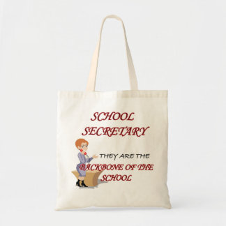SCHOOL SECRETARY 2 copy Budget Tote Bag
