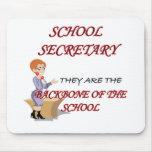 SCHOOL SECRETARY 2 copy Mouse Pads