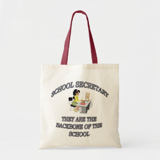 SCHOOL SECRETARY BUDGET TOTE BAG