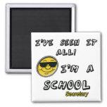 School Secretary Fridge Magnet