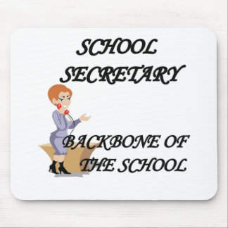 SCHOOL SECRETARY MOUSE MAT