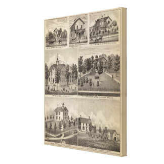 School, Seminary, Residences, Minnesota Canvas Print