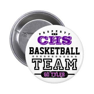 School Sport Team Button