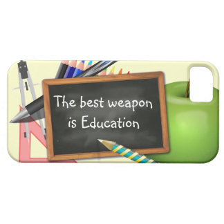 School Supplies iPhone 5 Covers