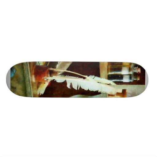 School Supplies in General Store Skateboard Decks