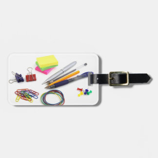 School Supplies Luggage Tag