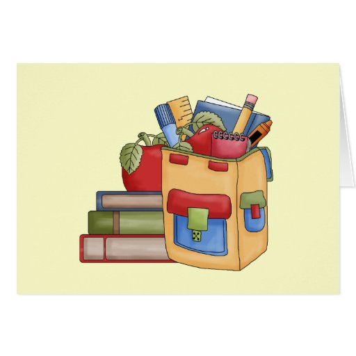 School Supplies Tshirts and Gifts Card