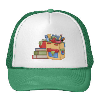 School Supplies Tshirts and Gifts Mesh Hats