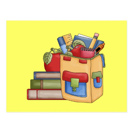 School Supplies Tshirts and Gifts Post Cards