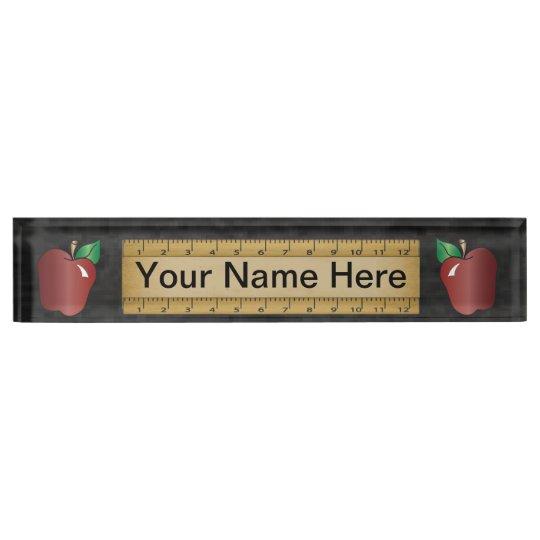 School Teacher | DIY Name Desk Name Plates