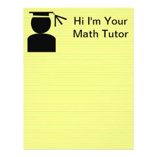 School Teacher Tutor Flyers