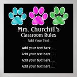 School Teacher's Classroom Rules - SRF