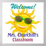 School Teacher's Classroom Welcome - SRF